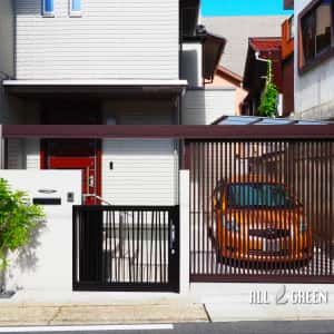 higashiku_n_02631_4-300x300 名古屋市東区のLIXILプラスGリニア吊引戸でクローズ新築外構