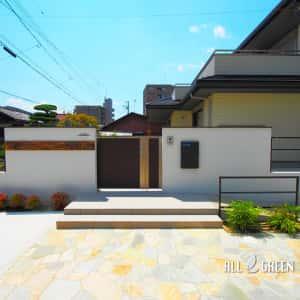 ichinomiyashi_t_03194_1-300x300 天然石の乱形石張りが印象的なスロープ付き愛知県一宮市の新築外構デザイン