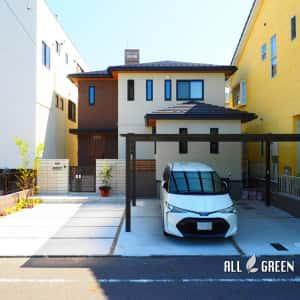kiyosushi_a_02762_2-300x300 敷地を上手く活用した2台用カーポートのある清須市の新築外構