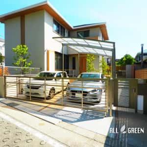 mizuhoku_h_02514_1-300x300 名古屋市瑞穂区のアルミ色と暖かみある木調色を組み合わせた優しい印象のシンプルモダン新築外構工事