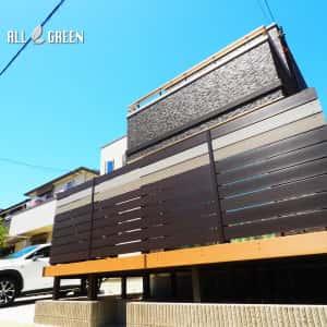 mudoriku_y_02991_2-300x300 名古屋市緑区のオリジナル目隠樹脂木フェンスとウッドデッキ