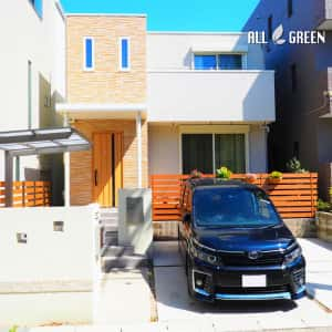 shikusaku_y_02445_2-300x300 名古屋市千種区のナチュラルな装飾ある門まわりの新築外構工事
