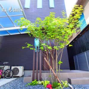 syouwaku_k_02761_2-300x300 アートボードによるアクセントを設けたモダンな門塀の名古屋市昭和区のミニマル外構デザイン