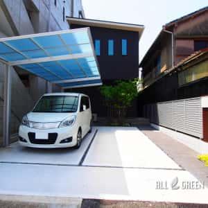syouwaku_k_02761_3-300x300 アートボードによるアクセントを設けたモダンな門塀の名古屋市昭和区のミニマル外構デザイン