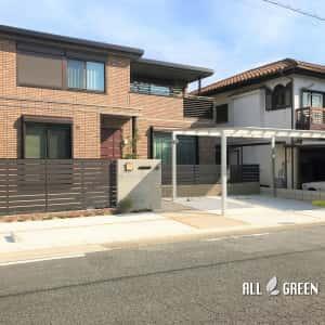 tenpakuku_k_02446_4-300x300 名古屋市天白区の優しい質感のタイルとウッド調フェンスによる温かみある門構え