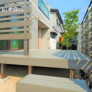 yokkaichi_h_02793_1-300x300 四日市市の新築外構_幅の違う板を用いた木調フェンス