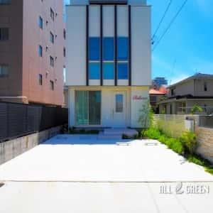 higashiku_s_03149_5-300x300 ガラスの看板でエッジをきかせた名古屋市東区にあるエステサロンの外構