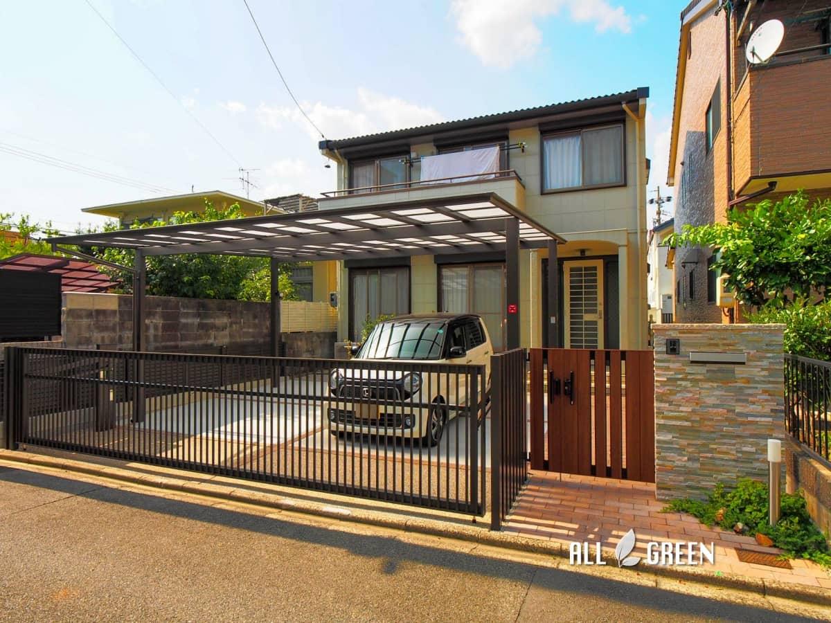 mizuhoku_t_03575_5 ガーデンライフを楽しみつつ機能性もしっかり備えた名古屋市瑞穂区のリフォーム外構