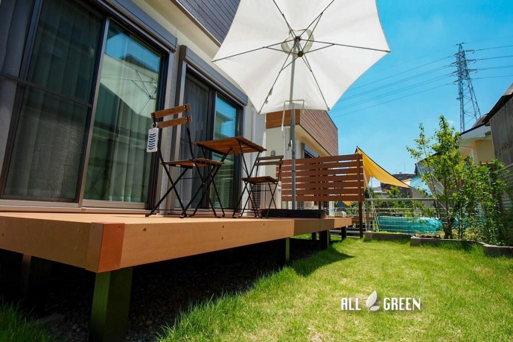 kiyosu_H_voice_03754 庭作り初心者の話をよく聞き、くみ取ってくれ、形になる過程を一緒に楽しみながら理想の庭が出来ました。稲沢市/H邸